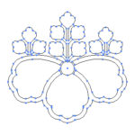 今週の追加家紋素材は「桐」2種「木」2種「鱗」1種「千切り」2種です。