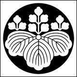 定番の桐紋を石持ち地抜きにしたもの。