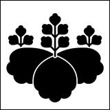 松江藩松平氏の使用した桐紋。