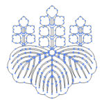 家紋「桐」のフリー素材を作成したのでご紹介します。