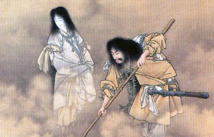 神道神話の一節に登場するイザナギ・イザナミ