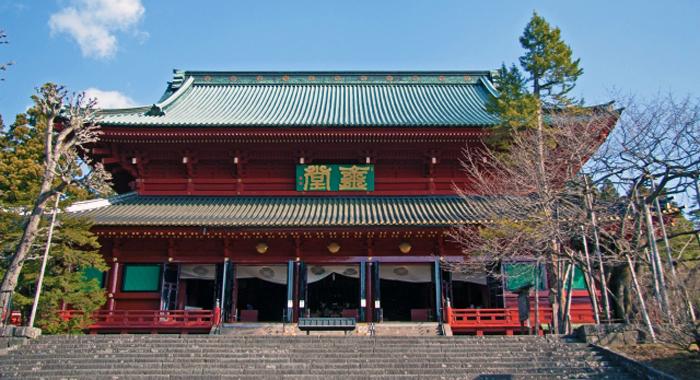 輪王寺にも常行堂が存在する